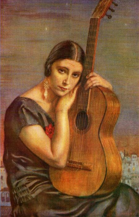 el alma de guitarra de Jorge Apperley (George Owen Wynne Apperley) (1884-1960, United Kingdom)