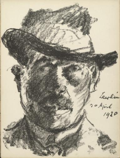 Self-Portrait 3 de Lovis Corinth (Franz Heinrich Louis) (1858-1925, Netherlands)