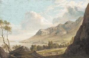 Paul Sandby - Derwent Waster