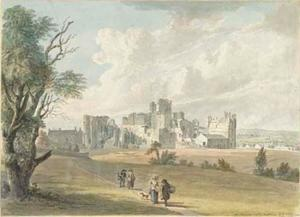 Paul Sandby - Castillo de Middleham, Yorkshire