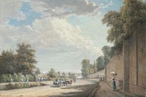 Paul Sandby - El Bayswater Road, Paddington