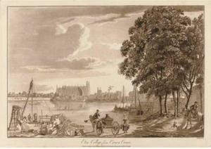 Paul Sandby - Vistas del castillo de Windsor