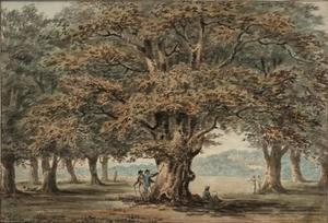 Paul Sandby - Windsor Park