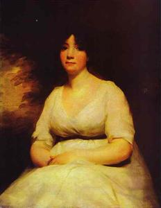 Henry Raeburn - retrato de mrs . kenneth murchison