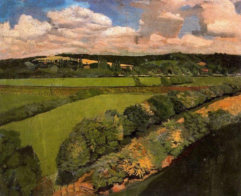 Cookham de Stanley Spencer (1891-1959, United Kingdom)