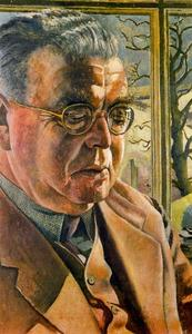 Stanley Spencer - Botas retrato of J . L . Behrend