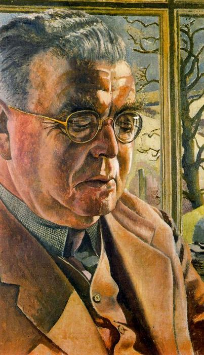 Botas retrato of J . L . Behrend de Stanley Spencer (1891-1959, United Kingdom) | ArtsDot.com
