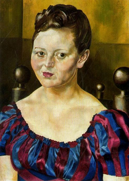 Retrato de la señorita Elizabeth Wimperis de Stanley Spencer (1891-1959, United Kingdom)