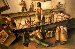 Stanley Spencer - Remachadoras
