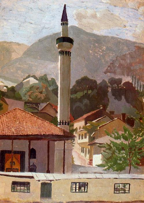Sarajevo de Stanley Spencer (1891-1959, United Kingdom)
