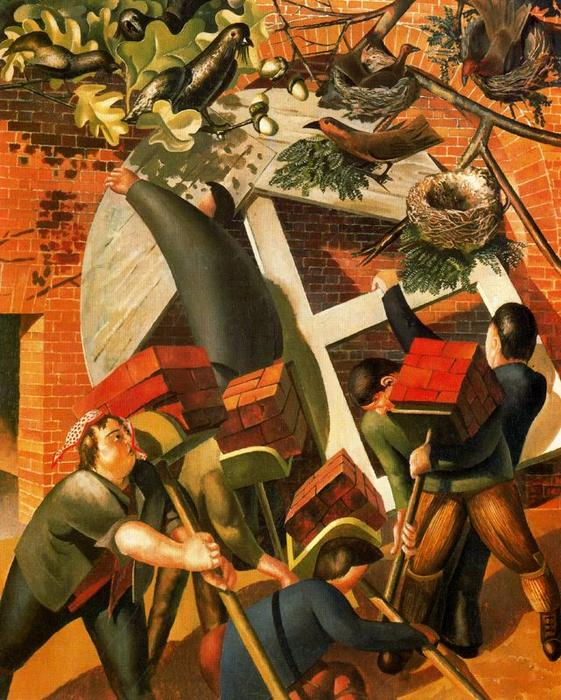 Los Constructores de Stanley Spencer (1891-1959, United Kingdom)