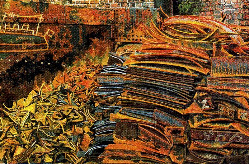El montón de chatarra de Stanley Spencer (1891-1959, United Kingdom)