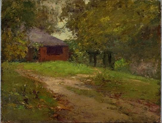 The Home Steele de Theodore Clement Steele (1847-1926, United States) | ArtsDot.com