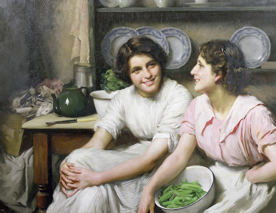 Charlatanes, 1890 de Thomas Benjamin Kennington (1856-1916, United Kingdom)