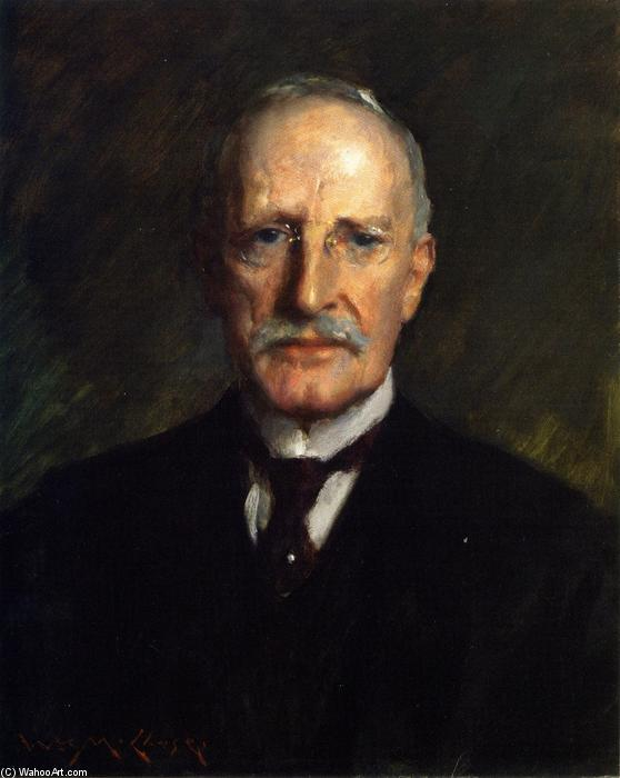 Edward Guthrie Kennery, óleo sobre lienzo de William Merritt Chase (1849-1916, United States)