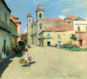 Willard Leroy Metcalf - Catedral de La Habana