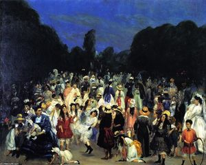 William James Glackens - En el Buen Retiro