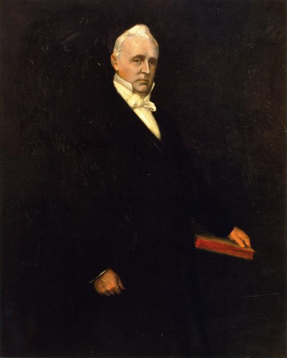 James Buchanan, óleo sobre lienzo de William Merritt Chase (1849-1916, United States)