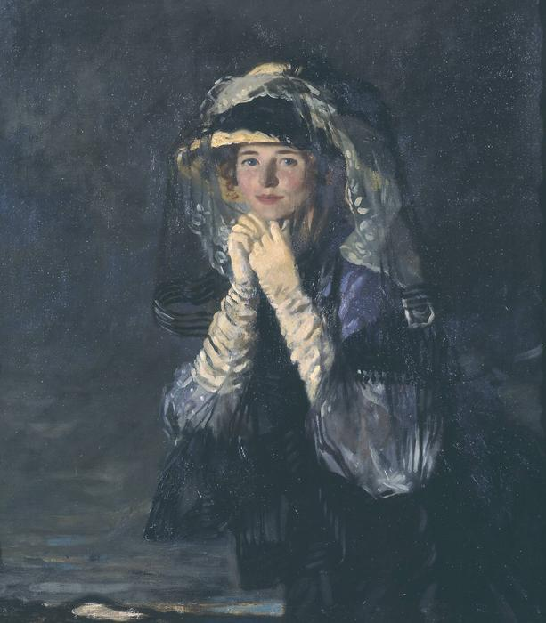 Señora Orpen, 1907 de William Newenham Montague Orpen (1878-1931, Ireland)