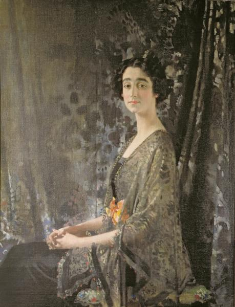 Señora Rocksavage de William Newenham Montague Orpen (1878-1931, Ireland)