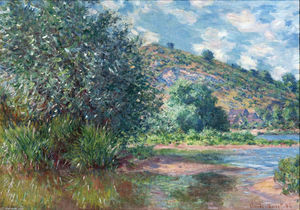 Claude Monet - Paisaje en Port-Villez