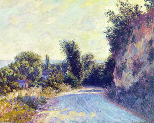 Claude Monet - camino cerca Giverny 02