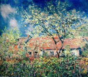 Claude Monet - primavera en Giverny