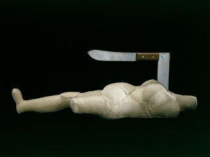 Louise Joséphine Bourgeoi.. - mujer-cuchillo