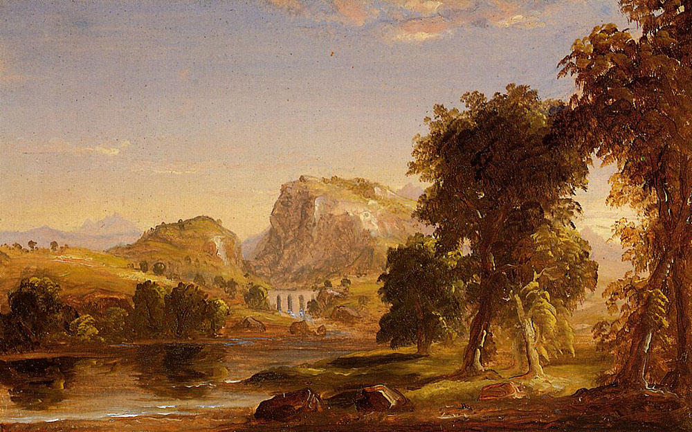 Boceto para Dream of Arcadia, 1838 de Thomas Cole (1801-1848, United Kingdom) | ArtsDot.com