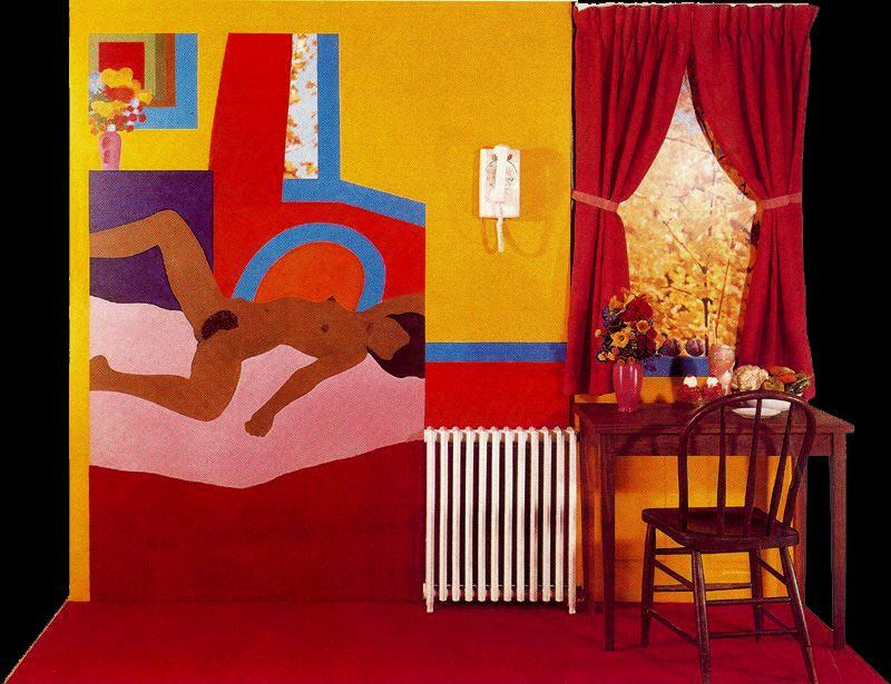 great american nude n 54   de Tom Wesselmann (1931-2004, United States)