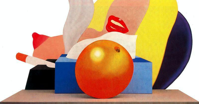 great american nude n 99   de Tom Wesselmann (1931-2004, United States)
