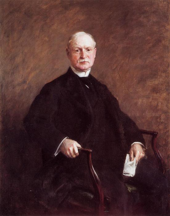 Colesberry Purves, óleo sobre lienzo de William Merritt Chase (1849-1916, United States)