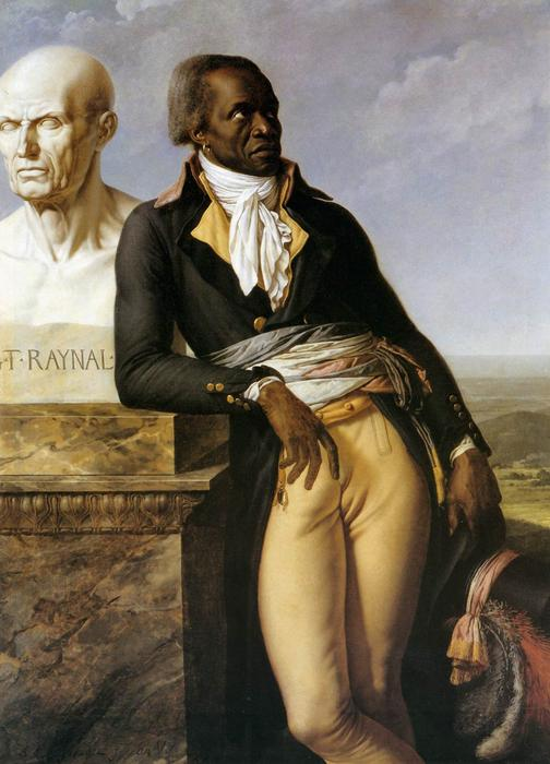 Retrato de JB Belley, Adjunto de Saint-Domingue, 1797 de Anne Louis Girodet De Roucy Trioson (1767-1824, France) | Arte De La Reproducción | ArtsDot.com