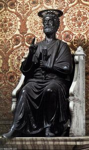Arnolfo Di Cambio - la estatua of Santa Peter