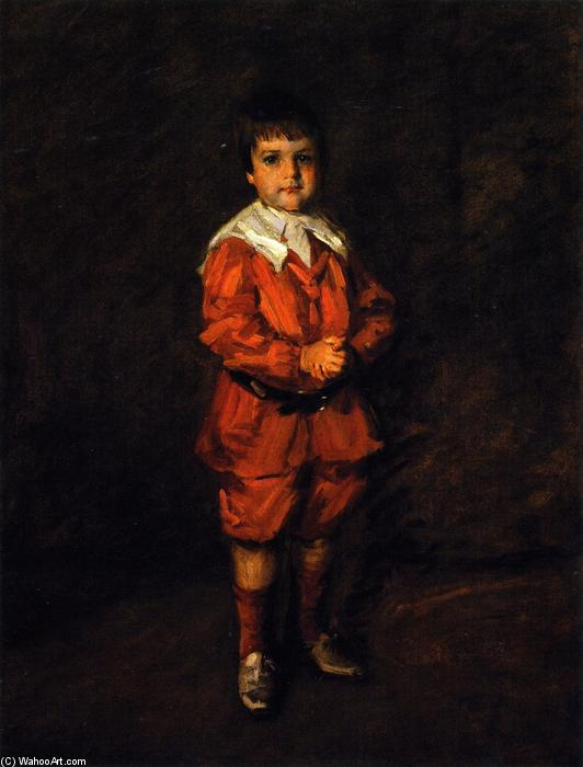 Master Robert, óleo sobre lienzo de William Merritt Chase (1849-1916, United States)