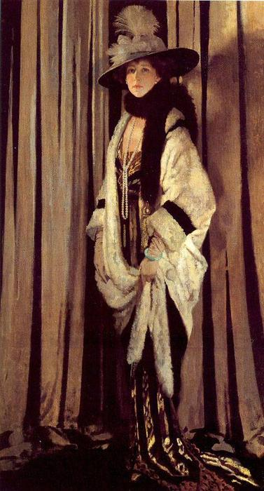 señorita san  Jorge  de William Newenham Montague Orpen (1878-1931, Ireland) | ArtsDot.com