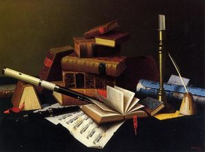 William Michael Harnett - Música y Literatura