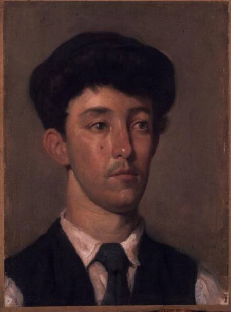 retrato de un juventud de William Newenham Montague Orpen (1878-1931, Ireland) | Copia De La Pintura | ArtsDot.com