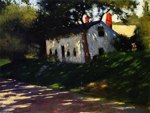 Dennis Miller Bunker - Cottage en carretera, Medfield..