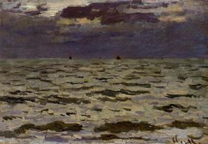 Claude Monet - Vista Marina