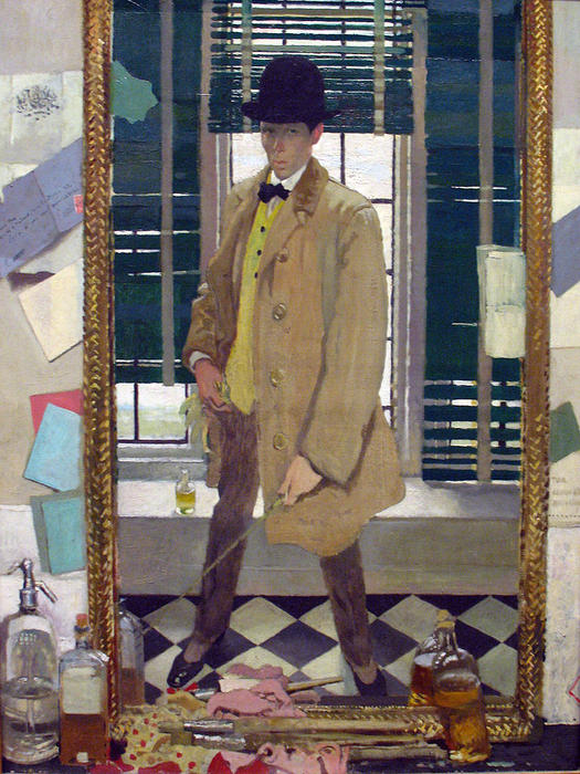 Autoretrato, 1910 de William Newenham Montague Orpen (1878-1931, Ireland) | ArtsDot.com