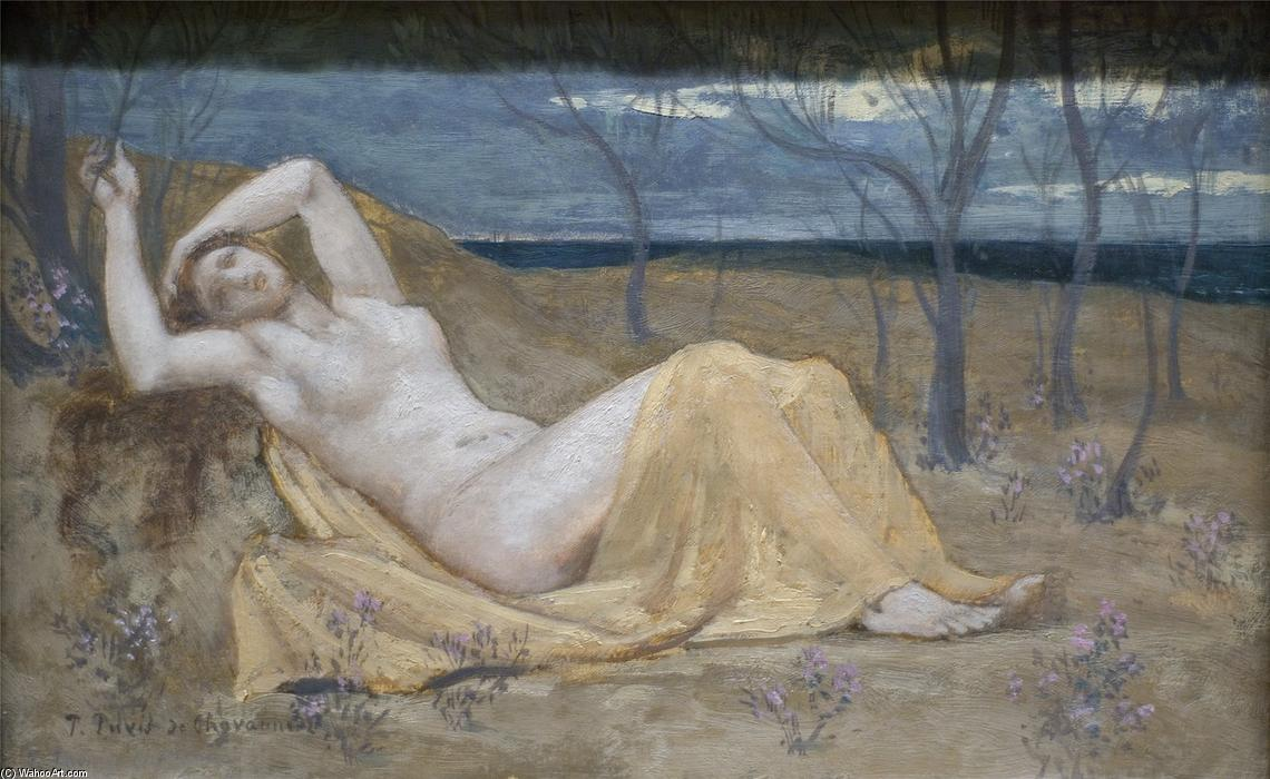 Tamaris, 1880 de Pierre Puvis De Chavannes (1824-1898, France)