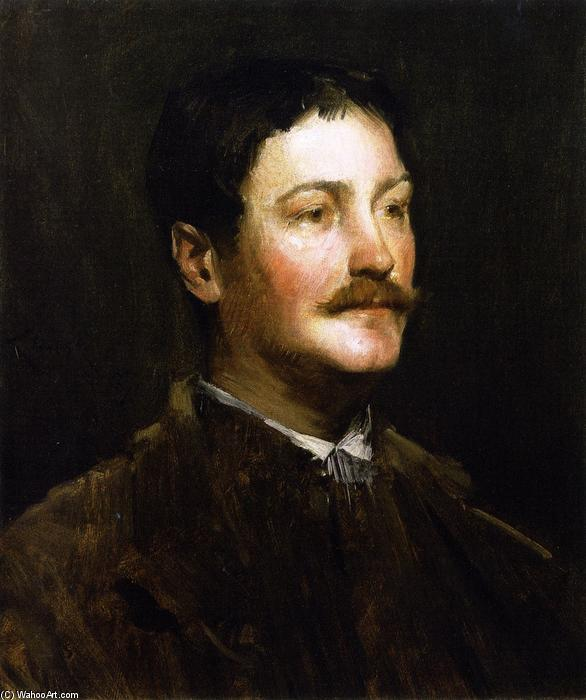Thomas W. Dewing, 1887 de William Merritt Chase (1849-1916, United States) | Arte De La Reproducción | ArtsDot.com