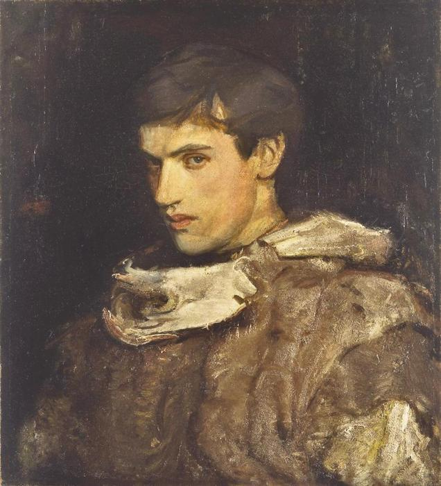 William Michael Spartali Stillman de Abbott Handerson Thayer (1849-1921, United States)