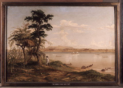El río Zambezi de Thomas Baines (1820-1875, United Kingdom)