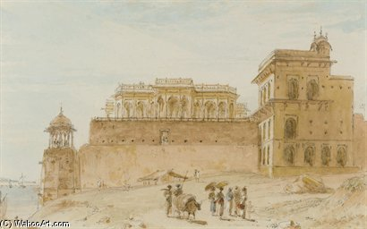 El Chalees Setoon, Ghazipur de Thomas And William Daniell (1769-1837, United Kingdom)