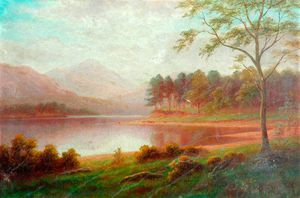William Mellor - Browmill Point, Derwentwater, Cumbria