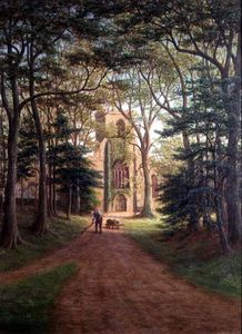 William Mellor - Harewood Iglesia, Yorkshire