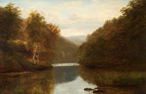 William Mellor - On The Dee En Llangollen