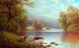 William Mellor - En Wharfe, Bolton maderas